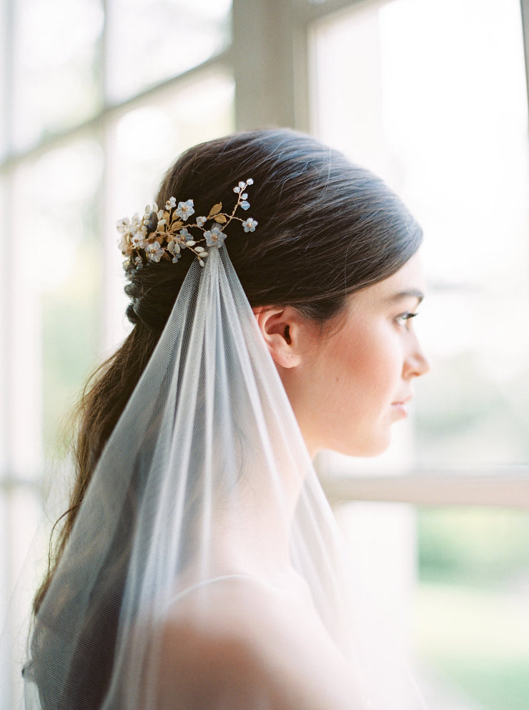 VERITY | Opal Bridal Headpiece - Noon on the Moon