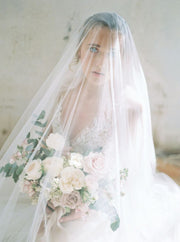 VICTORIA | Drop Veil with Long Blusher