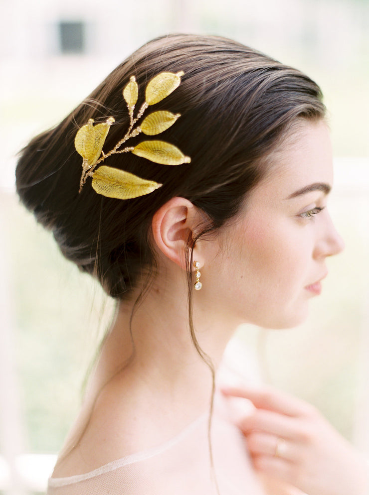 WILLOW | Gold Leaf Headpiece | Noon on the Moon