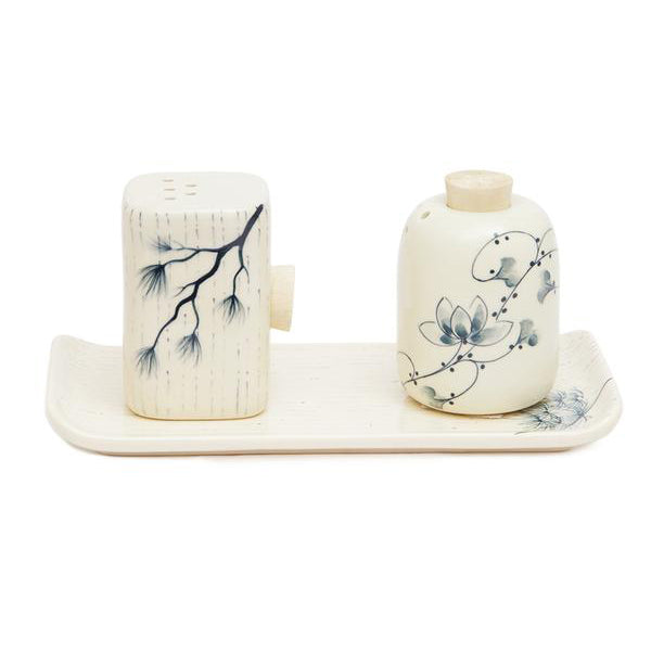 Ceramic Salt N' Pepper Shakers