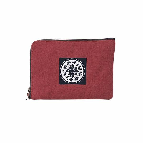 Embroidered iPad Case
