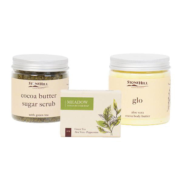 Green Tea & Aloe Vera Skincare Set
