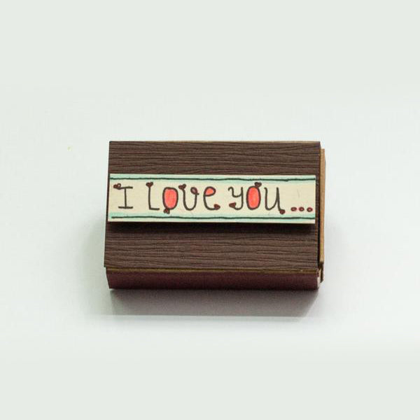Romantic Mini Matchbox