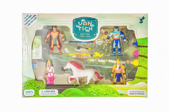 Legendary Toy Set - Son Tinh Thuy Tinh