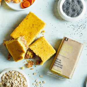 Lemon Poppy Seed High-Protein Bars