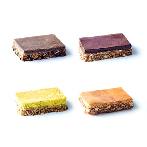 Sample Pack of High-Protein Bars