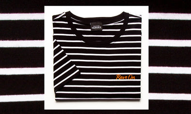 NEW STRIPPED T-SHIRT