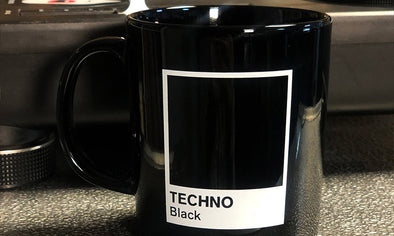 TECHNO BLACK MUGS