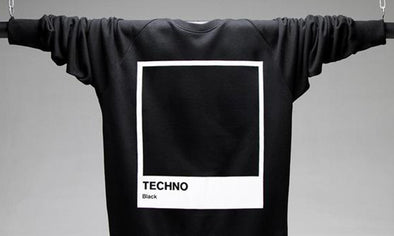 Techno Black Sweatshirts