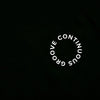 Continuous Groove Back Print - Tshirt - Black - Wasted Heroes