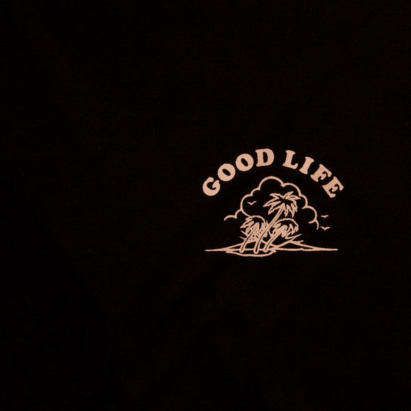 Good Life  - Women's Tshirt - Black - Wasted Heroes