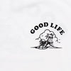 Good Life  - Women's Tshirt - White - Wasted Heroes