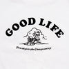 Good Life  - Oversized Tshirt - White - Wasted Heroes