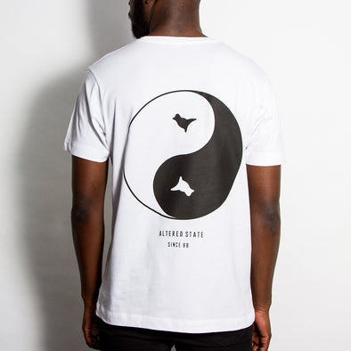 Dove Back Print - Tshirt - White