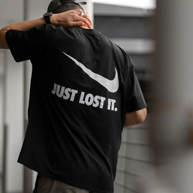 Lost It - Tshirt - Black
