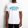 Mindless College Blue Print - Tshirt - White - Wasted Heroes