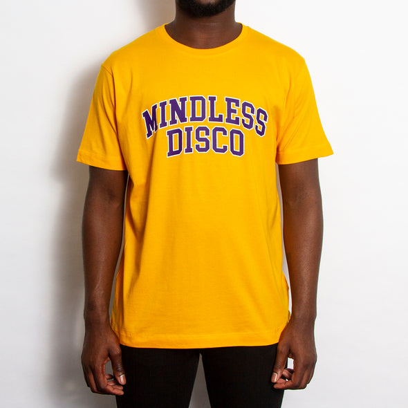 Mindless College Purple Print - Tshirt - Gold - Wasted Heroes