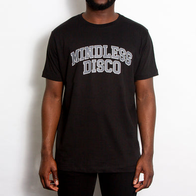 Mindless College Grey Print - Tshirt - Black - Wasted Heroes