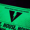 Sound System House Green Front - Tshirt - Black - Wasted Heroes