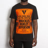 Sound System House Orange Front - T-shirt - Back - Wasted Heroes