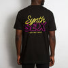 Synth Sex Superstore Back - Tshirt - Black - Wasted Heroes