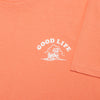 Good Life - Tshirt - Sunset Orange - Wasted Heroes
