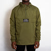 Disco Psychedelia - Pull Over Jacket - Green - Wasted Heroes