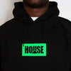 House Neon - Hood - Black - Wasted Heroes