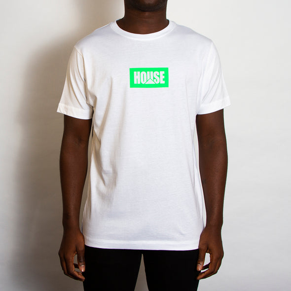 House Neon - Tshirt - White - Wasted Heroes