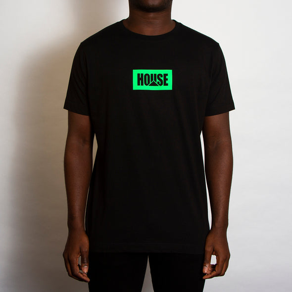 House Neon - Tshirt - Black - Wasted Heroes