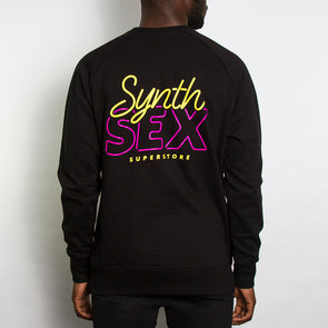 Synth Sex Superstore - Sweatshirt - Black - Wasted Heroes