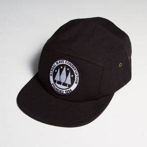 Illegal Rave - 5 Panel Cap - Black - Wasted Heroes