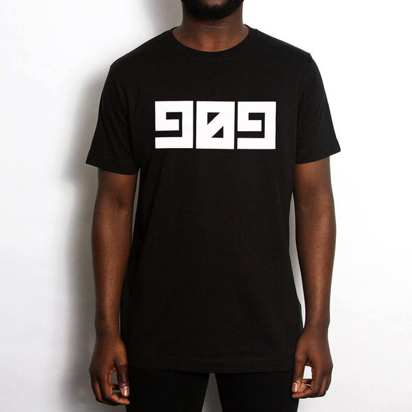 909 - Tshirt - Black - Wasted Heroes