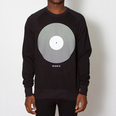 Vinyl - Sweatshirt - Black
