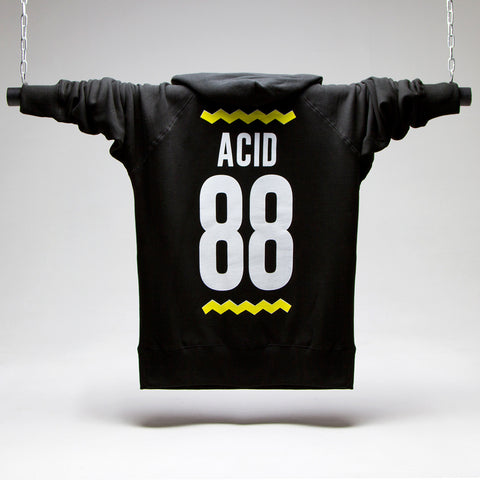 Acid 88 Pullover Hooded Sweatshirt