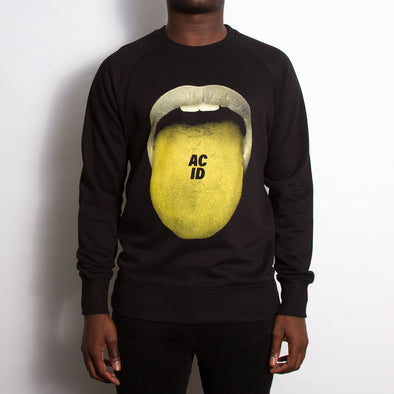 Acid Drop - Sweatshirt - Black