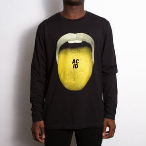 Acid Drop - Long Sleeve - Black - Wasted Heroes