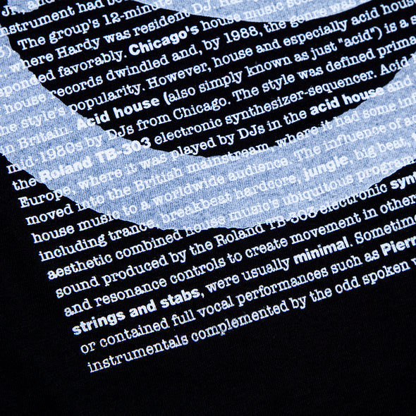 Acid Definition Back - Tshirt - Black - Wasted Heroes