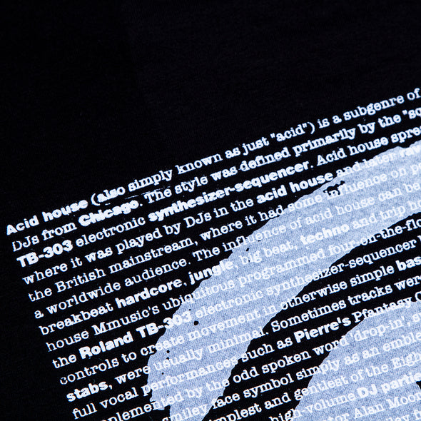 Acid Definition Front - Tshirt - Black - Wasted Heroes
