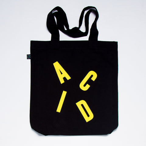 Acid Letter Tote Bag