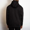 Acid Letter - 3/4 Zipped Pullover Hood - Black - Wasted Heroes