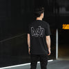 Remix 2 Acid Letter Back Print - Tshirt - Black - Wasted Heroes