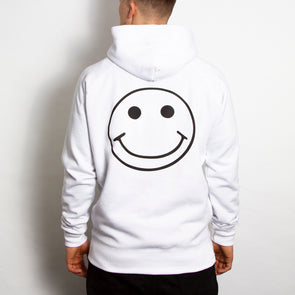Acid Party Shock - Pullover Hood - White - Wasted Heroes