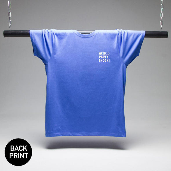 Acid Party Shock T-Shirt - French Blue