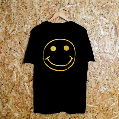 Gold Acid Party Shock - Ltd Edition Tshirt - Black - Wasted Heroes