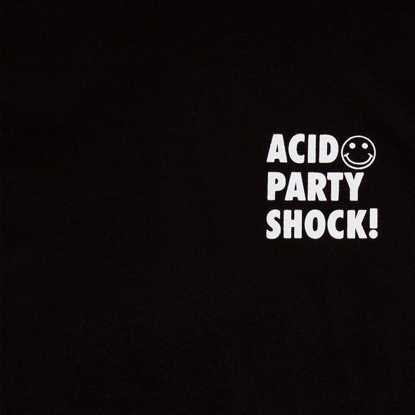 Acid Party Shock - Oversized Tshirt - Black - Wasted Heroes