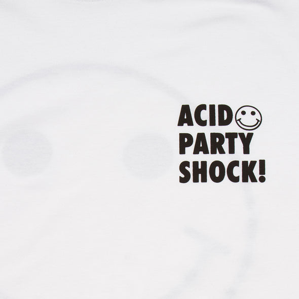 Acid Party Shock - Tshirt - White - Wasted Heroes