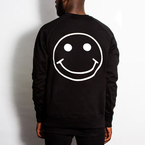 Acid Party Shock - Sweatshirt - Black