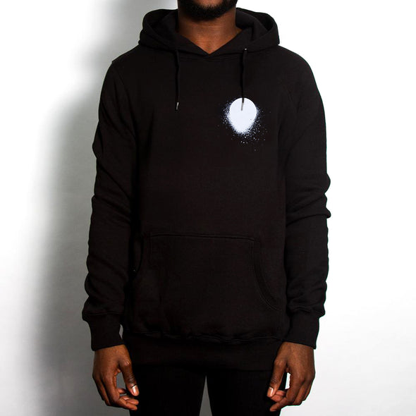 Sunset - Pullover Hood - Black - Wasted Heroes