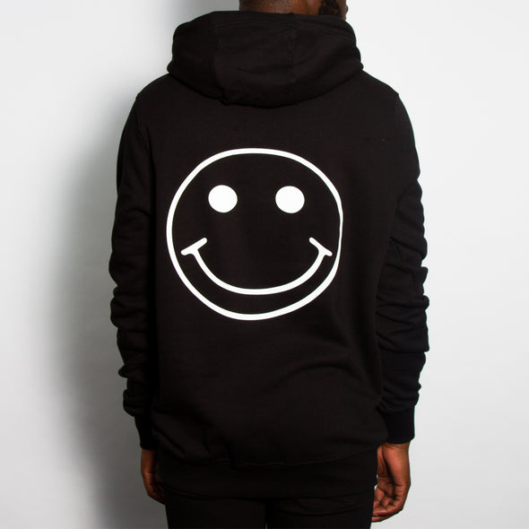 Acid Party Shock - Pullover Hood - Black - Wasted Heroes